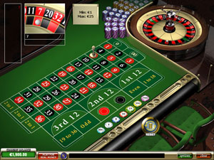 American Style Roulette Game Online